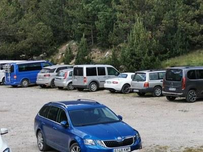 Regulació del trànsit a les pistes de Pollineres, Estanys de la Pera, Cap del Rec i Aransa